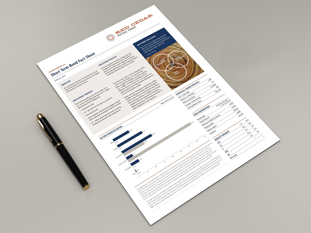 Red Cedar -fund fact sheets