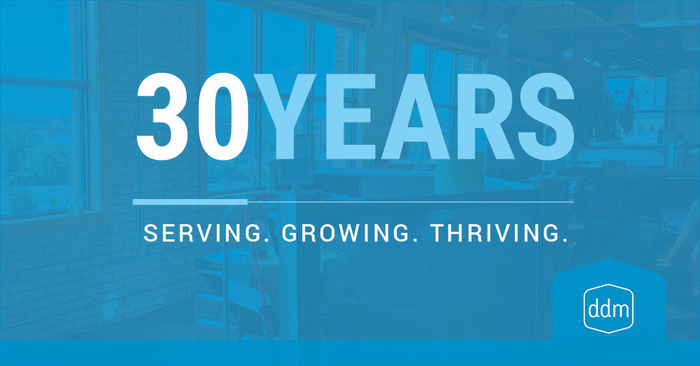 30 Years: Serving. Growing. Thriving. -cover