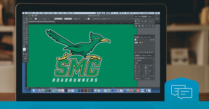 An inside look at designing a college mascot -cover
