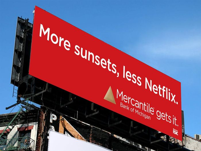 Outdoor Advertising (Mercantile gets it)
