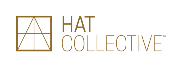 HAT Collective stacked color logo