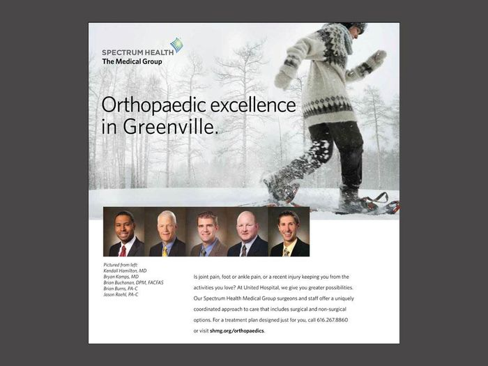 Print advertising (orthopaedics)