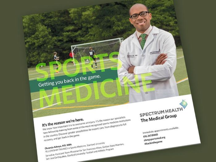 Print advertising (physician promotion)